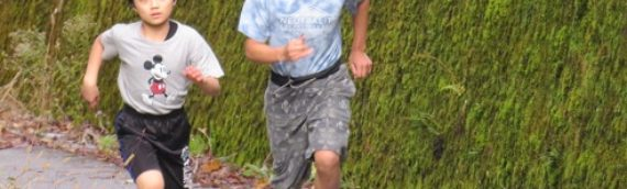 秋の校内マラソン大会