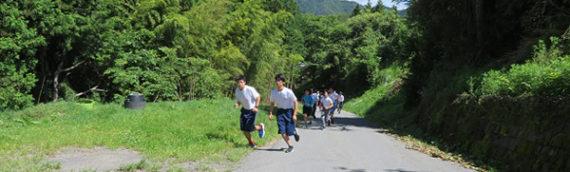 春の校内マラソン大会